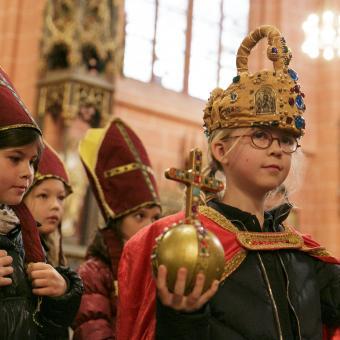 Kaiserkrönung im Dom